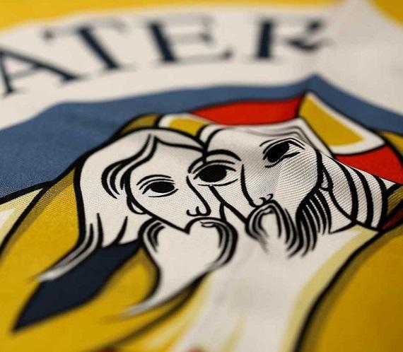 185-foulard-polytwill-giallo-con-logo-del-giubileo-della-misericordia-2