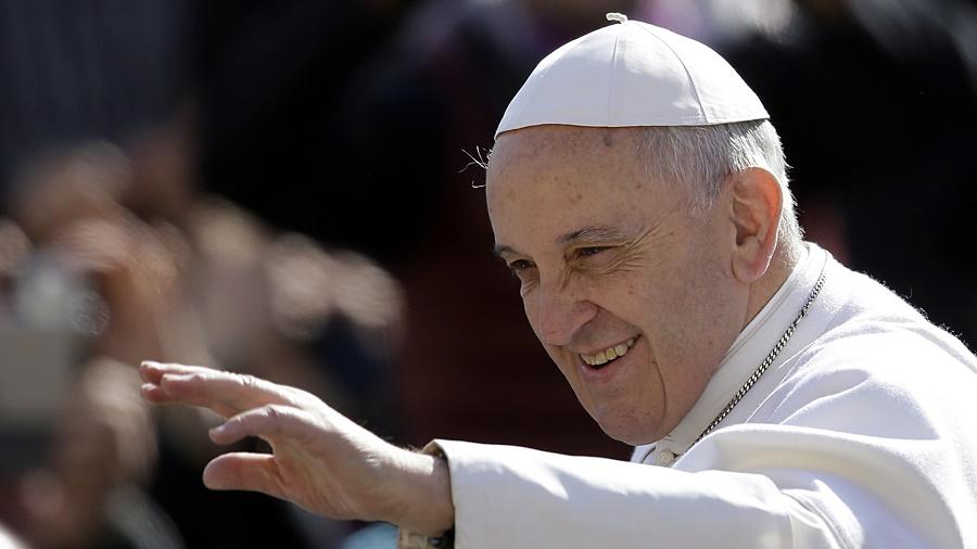 Resultado de imagen de papa francisco santísima trinidad 2019